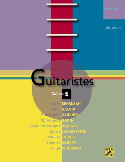 """Livre """"Guitaristes"""" vol.1 (Outre Mesure 2004)"""