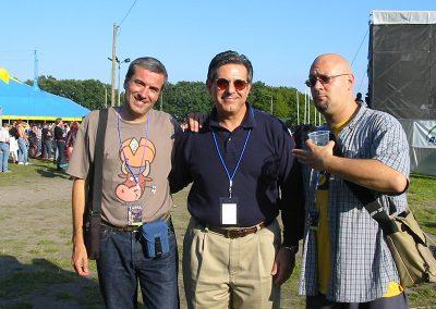 les 2G aux Zappanale avec Bob Zappa (2002)
