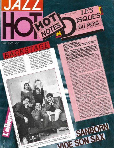revue disque Abus Dangereux (1984)