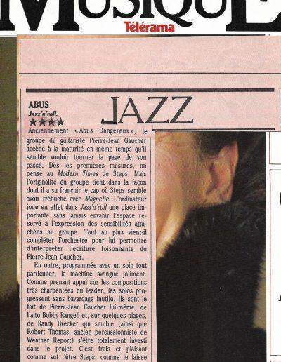 revue disque Abus (1986)