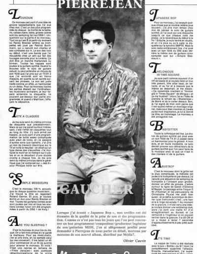 revue CD Abus 1989