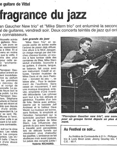 article concert New Trio (1994)