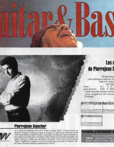 ex.pédago de PJ.Gaucher (1993)