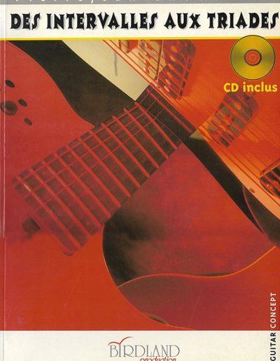 livre des intervalles aux triades 1998