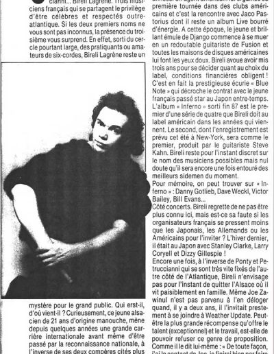 article Bireli Lagrene Jazz-hot