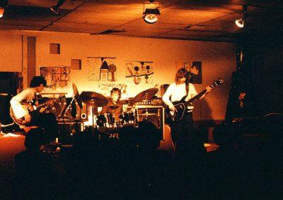 premier concert Abus Dangereux en 1979 - M.Miglierini (bass), S.Lamboley (dms) et D.Paulin (clav)