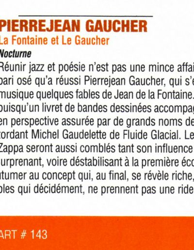 "revue du CD ""la fontaine"" (2005)"