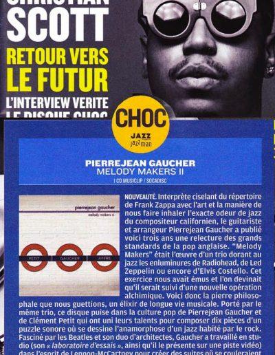 disque du mois Jazzmag 2012-G.Darol)