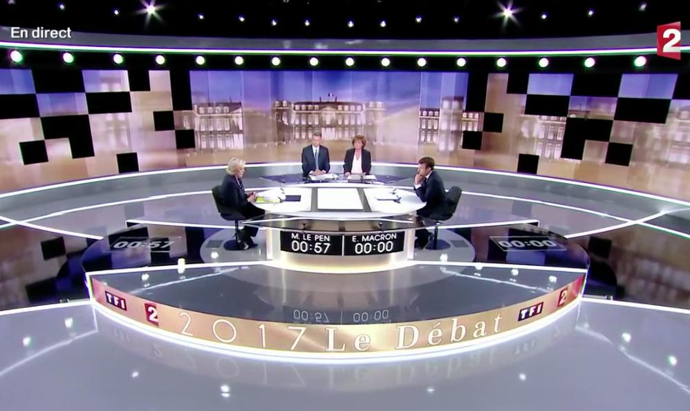 Débat musical Macron-Le Pen