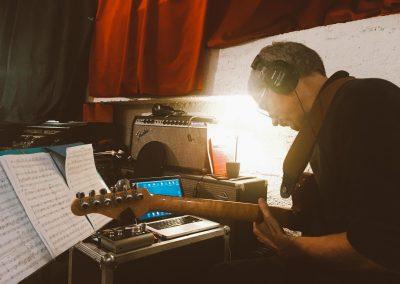 en studio pour le Zappe Satie