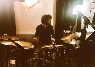 en studio avec Ariel Tessier