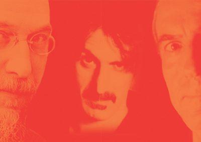 Avec mes 2 illustres compagnons (E.Satie et F.Zappa)