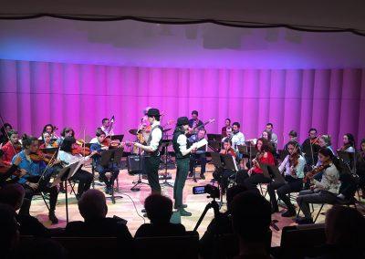 Concert Satie au CRR de Versailles en 2020